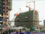 bomba concreta de los 42m con el auge