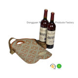 Rotes Wine Bottle Cooler mit Adjustable Belt