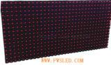 Afficheur LED simple extérieur de la couleur P10 rouge