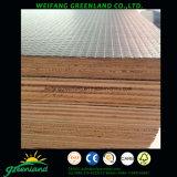 Madera contrachapada fuerte estupenda para el uso antirresbaladizo del suelo del carro con base de la madera dura, pegamento fenólico