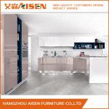 Mobília personalizada L armário da cozinha do gabinete de cozinha da laca do estilo
