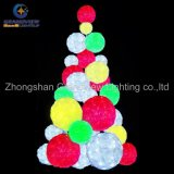 Buntes Square Christmas Tree Light Christmas Ball Lights für Holiday Decoration