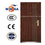 Do folheado de madeira de aço do MDF da segurança do mercado de Ceeurop porta blindada (W-A1)