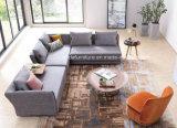 L moderno sofá de la tela de la dimensión de una variable