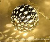 Het zonne Aangedreven Licht van het Koord van Kerstmis 12LED voor de Decoratie van de Partij
