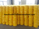 400-8 rotella libera piana della gomma piuma dell'unità di elaborazione per la riga della barra di rotella