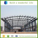 Armazém estrutural do frame de aço da oficina da fábrica do baixo custo