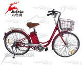 Stahlrahmen-elektrisches Fahrrad mit Cer (JS L008A)