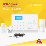 Drahtloses GSM+PSTN Alarm mit englischem und französischem Version (YL-007M2)