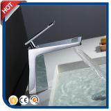 Badezimmer-Bassin-Wannen-modernes Chrom-Messingeinhebelhahn