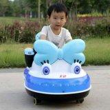 Carro elétrico do brinquedo do bebê com a barra Stretchable do impulso