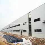 Поставщик Китая гальванизировал пакгауз стальной структуры светлого датчика Prefab