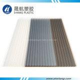 El panel plástico helado del policarbonato hueco de bronce con el SGS