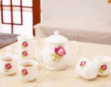 方法デザイン優雅な茶鍋の陶磁器のティーセット