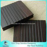 Sitio de bambú pesado tejido hilo al aire libre de bambú 37 del chalet del suelo del Decking