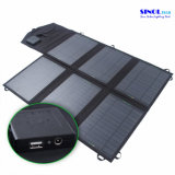 40W 2-Port Gleichstromusb-Solaraufladeeinheit mit faltendem Sonnenkollektor 40 Watt für die im Freienlaptop-Aufladung (FSC-40B)