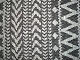 Tessuto di lavoro a maglia del jacquard di disegno della geometria
