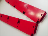 Aluminiumpuder-überzogene rote Gitter-Decke