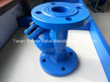 Y-Tipo filtro de /Ducltle do ferro de carcaça de DIN/GB/API com engranzamento Ss304/Ss316