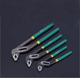 Doubles pinces de pompe à eau de couleur, clé manuelle de pompe