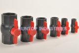 Válvula de bola octagonal compacto de PVC