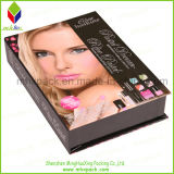 Regalo hermoso de papel envases de cosméticos caja plegable magnético