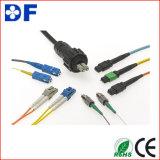 Sc Pigtail/FC de fibra óptica da fibra de Corning de 12 núcleos, Sc, LC, Pigtails óticos da fibra do St