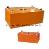 Séparateur magnétique permanent de suspension de la série Rcyb-8 pour le fer de Removeing des matériaux non magnétiques
