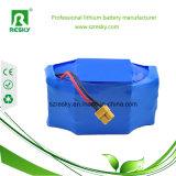batteria di litio di 24V 7ah 8ah con la mini intelaiatura della rana per Ebike pieghevole