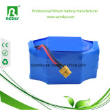 Foldable Ebikeのための小型カエルの包装が付いている24V 7ah 8ahのリチウム電池