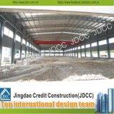 Bajo costo de construcción del edificio de la fábrica de acero