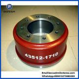 Tambour de frein en gros de bâti de fer pour Hino 43512-1710