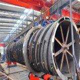 Coque / cylindre à cuve rotative en acier au carbone avec haute qualité