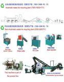 Cadena de producción de goma del polvo máquinas de la aplicación inútil del neumático