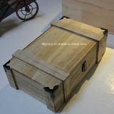 Новой коробка подгонянная конструкцией модная деревянная для упаковывать вина
