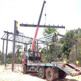 Edifício pre projetado do armazém de armazenamento da construção de aço com baixo custo