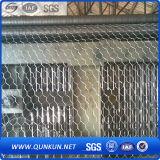 Acoplamiento de alambre hexagonal galvanizado y revestido del PVC
