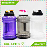 Bola de água de esporte plástica PETL de 2,1L de boca larga