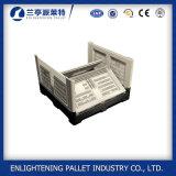 1200X1000X810mmプラスチックFoldableパレットボックスプラスチック折るパレット木枠