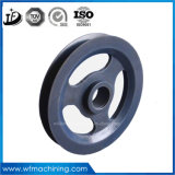 OEM Customized CNC Usinagem V-Taper Pulley and Bore Pulley