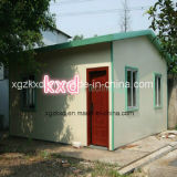 Casa de aço modular pré-fabricada do recipiente