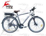Bicicletta del blocco per grafici E della lega di alluminio di CE/EN15194 700C (JSL034B)