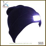 Chapéu de malha de inverno feito sob encomenda
