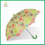 [190ت] بوليستر رسم متحرّك مستقيمة طفلة مظلة