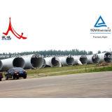 Piloni dell'acciaio di energia eolica