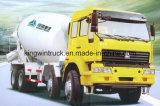 Vrachtwagen van de Concrete Mixer van het Type van Merk van Sinotruk HOWO 8X4 de Drijf