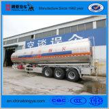 3 Wellen-Aluminiumlegierung-Kraftstoff-Tanker-halb Schlussteil