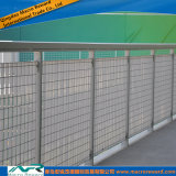 Vallas de seguridad de acero de las barandillas del estruendo de ASTM