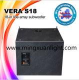 Vera van uitstekende kwaliteit S18 Line Array de Spreker van de PA van 18 Duim