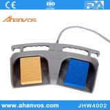 Aluminium Twee Knoop Footswitch van het Pedaal EGE van de Voet van het Pedaal van de Controle van de voet Medisch voor Generator Electrosurgical
